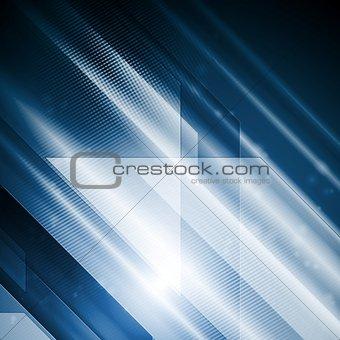 Bright hi-tech abstract vector illustration
