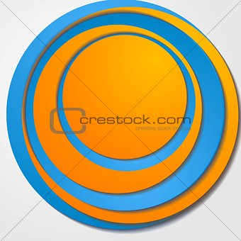 Abstract vector bright corporate design