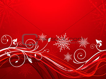 abstract artistic christmas background