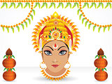 abstract navratri festival wallpaper