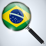 NSA USA Government Spy Program Country Brazil