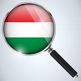 NSA USA Government Spy Program Country Hungary