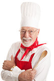 Handsome Chef - White Background