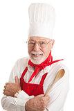 Handsome Chef - White Background