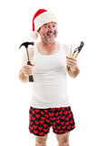 Ready For Christmas - Dad with Tools
