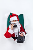Give santa a call this christmas