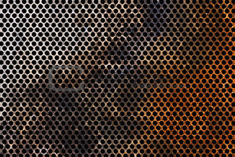 Corroded Metal grid