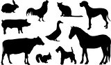 Animal Farm Silhouette