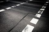 Lines on street