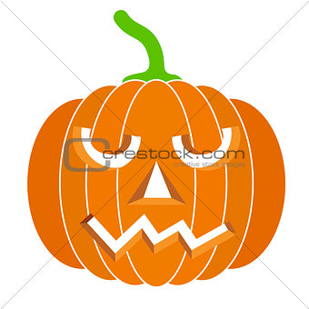 pumpkins for Halloween. Vector illustration.