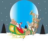 Santa and Moon