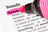 Benefit  Dictionary Definition