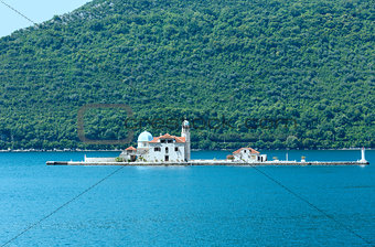 artificial island with a church on it (Perast, Montenegro, Kotor