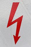 Symbol flash high voltage