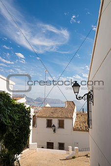 Altea village street