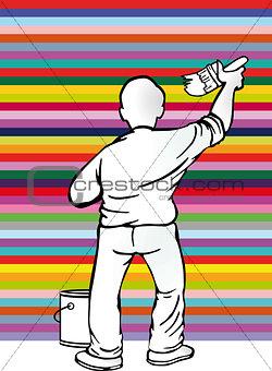 painter stripe