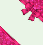 Elegant bow for present gift