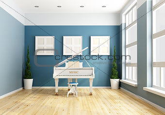 Blue chamber music