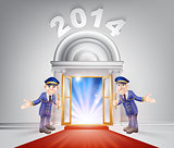 New Year 2014 Red Carpet