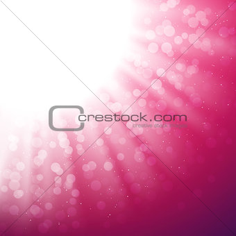 Abstract Magic Light Vector Background