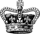 Crown Engraving