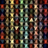 abstract geometric pattern of triangles