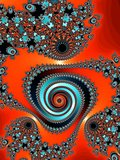 Graceful fractal spiral