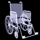 Wheelchair. X-ray