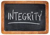integrity word on blackboard
