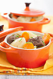 beef stew with potato and carrot