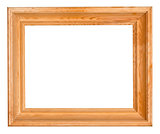 wide wooden picture frame