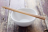 Chopstick with bowl