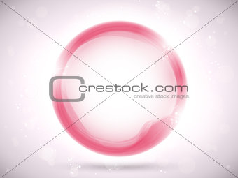 Modern Pink Circle Glowing Effects