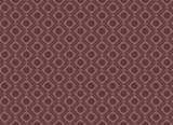Seamless Circle Square Geometric Pattern Red