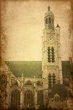 antique church building