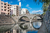 Spectacles Bridge in Nagasaki