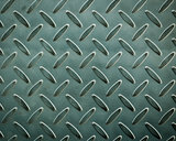 Closeup of metal diamond plate, texture background