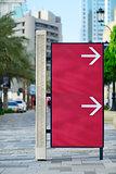 Sign at street