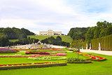 Gloriette and Schonbrunn gardens, Vienna