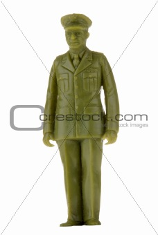 Army officer toy