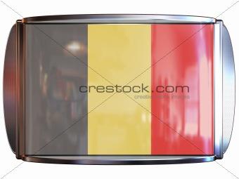 Flag to Belgium