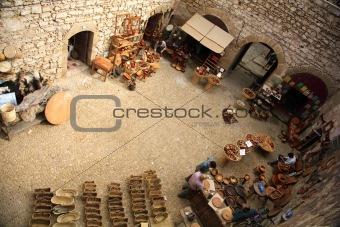 Courtyard market
