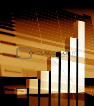 business statistics graph