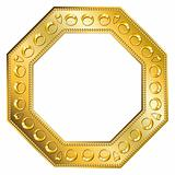 Frame Gold - Octagon 2