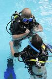 Scuba diving instructor 