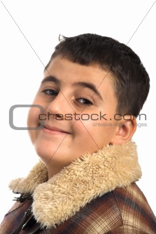 boy in coat