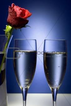 Celebration or Valentine Champaigne