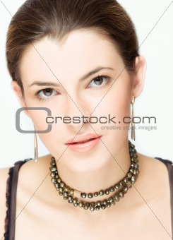 portait of young woman