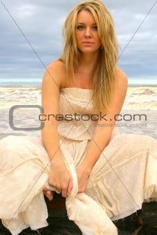 Beautiful Girl at the Beach
