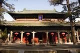 Main Temple Building, Mencius Shrime, Shandong, China